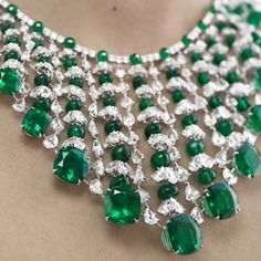 Emerald and diamond choker - Maybe, one day, I'll be able to afford it?
