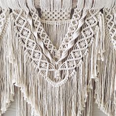 Beauty Extra large macrame wall hanging by WovenWhale on Etsy