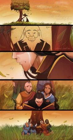"""Avatar: The Last Airbender"" fan art - Excuse me while I just cry for hours in a corner."
