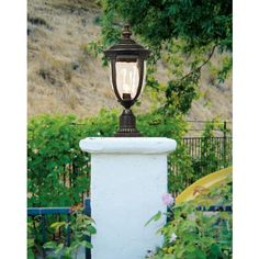 """Bellagio™ Collection 21"""" High Post Mount Light"""
