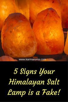 It is so sad to realize that so many people are buying a fake Himalayan Salt lamp these days. Today I would love to share this great article about how to figure out your Himalayan Salt lamp is genuine or not.