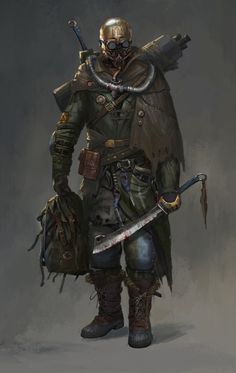 Rogue soldier - by lian zhen wei #DiscoverArt - #Art #LoveArt http://wp.me/p6qjkV-ajf