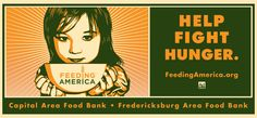 Shephard Fairey Poster helping to support food banks.