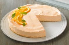 Orange-Dream Cheesecake WW PointsPlus+ = 2 - weight watchers recipes