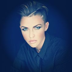 Ruby Rose...so beautiful.