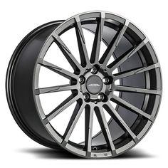 Ace Devotion - Matte Mica Grey w/ Machined Face Wheel Warehouse, Chevrolet Corvette C4, Rims For Cars, Truck Tyres, Custom Wheels, Alloy Wheel, Volkswagen, Image, Ideas