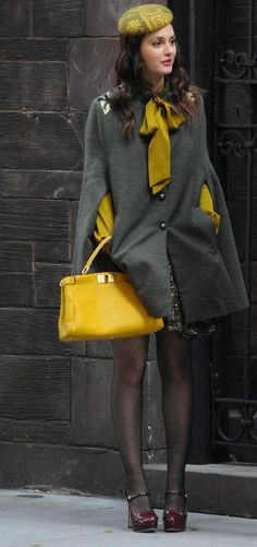 I love mustard yellow and grey combo!!