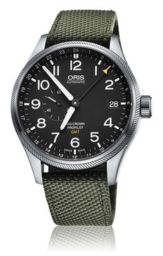 Oris Big Crown ProPilot - Oris Big Crown ProPilot GMT, Small Second 01 748 7710 4164-07 5 22 14FC