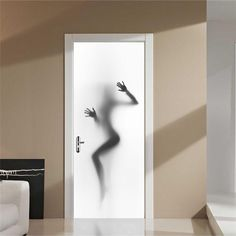 Looking for a way to transform bland, boring doors? A door mural can give a personalized look to any room. Shop our selections or create your own Custom Door Mural using your photo. 3d Sticker, Decoration Stickers, Paper Decorations, Vinyl Doors, Door Murals, Door Stickers, Self Adhesive Wallpaper, Adhesive Vinyl, Wallpaper Stickers