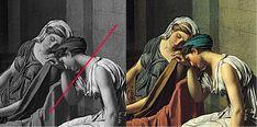 Jacque Louis David, Roi Louis, Louis Xvi, Palette, Painting, Colors, Art, Primary Colors, Draw