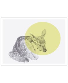 Sleeping Deer VON Morgan Kendall now on JUNIQE!