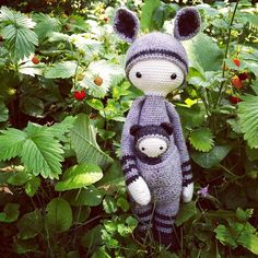 KIRA the kangaroo made by Mareike D. / crochet pattern by lalylala