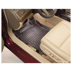Husky Liners Custom Fit Front and Second Seat Floor Liner Set for Chevrolet Equinox/GMC Terrain (Black)