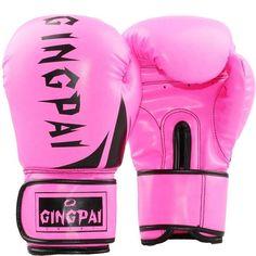 the best attitude 7dd2a f963f Kick Boxing MMA Gloves PU Leather Muay Thai Karate Taekwondo Training Boxing   SEAS91 Kick Boxing