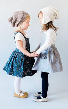 El Yapımı Çiçekli Pinafore Elbisesi | Blytheandreese, Etsy'de ...