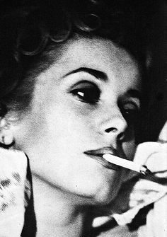 Catherine Deneuve in Vogue // not credited