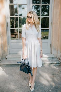End of Summer Approved Shirt Dress - Darling Down South Southern Style Clothes, Southern Outfits, Southern Fashion, Southern Dresses, Southern Women, Southern Belle, Petite Fashion, Elegant Dresses Classy, Classy Dress