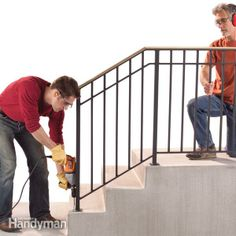 Outdoor Stair Railings   Safety First: Install an Outdoor Staircase Railing