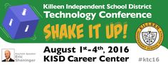 Learn tech tools for creatively captivating small students (including TinyTap) at Killeen ISD's Technology Conference next month!