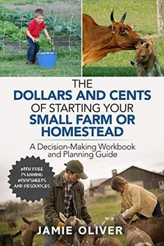 The Dollars and Cents of Starting Your Small Farm or Homestead: A Decision-Making Workbook and Planning Guide ebook--with 9 worksheets included Small Farm, Grow Your Own Food, Decision Making, Machine Learning, Book Lists, Book Lovers, Homesteading, Books To Read
