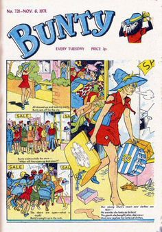 I used to take the Bunty, it was delivered on a Tuesday my favourite characters were the Four Marys.