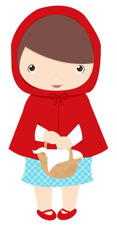 little red riding hood template clipart best blondie s fairy rh pinterest com little red riding hood clipart pictures red riding hood wolf clipart