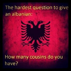 The Albanian question...