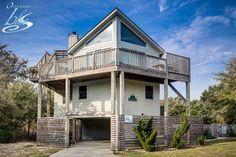 Moonbeam is an adorable 4 bedrooms, 3 bath vacation rental located in Corolla. The week of September 2 has been discounted for $250 off!  #OBX #OuterBanks #VacationRental #Corolla