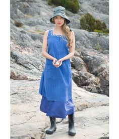Gudrunsjoeden Kleid aus Baumwolle