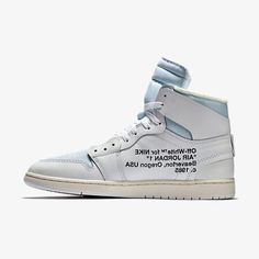 Off-White x Air Jordan 1 White - Grailify Sneaker Releases Jordan 1 White, Wholesale Nike Shoes, Sneaker Release, Off White, White White, Air Jordans, Street Wear, Sneakers, How To Wear