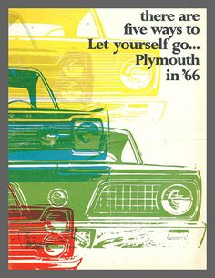 1966 Plymouth brochure - Five ways to let yourself go!