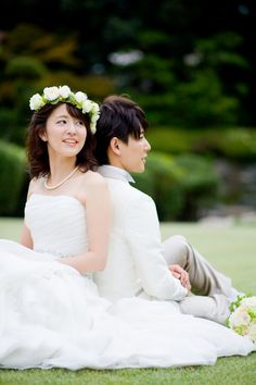 wedding floral hair