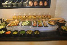 Salad section @ Kava, Fairfield by Marriott, Rajajinagar, Bangalore.