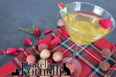 Winter bud: Sparkling #aperitif #cocktail with prosecco, #lychee cream and a hint of #rose essence - Fratelli ai Fornelli