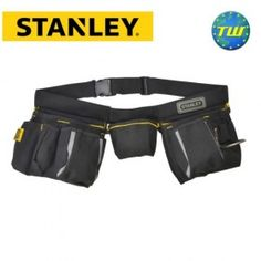 Stanley Multi Pocket Tool Belt Apron + Hammer Loop + Nail Pouch & Measure Holder STA196178