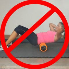How To Use A Foam Roller For Lower Back Pain: Addressing one of the more common mistakes when foam rolling, and explaining how to properly foam roll for lower back pain