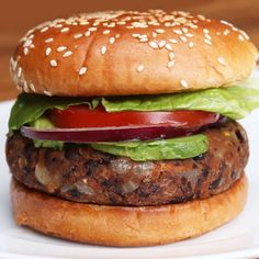 Black Bean Burgers Recipe by Tasty