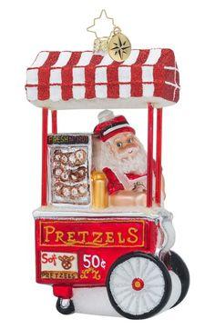 Christopher Radko 'Salty Santa' Santa Ornament available at #Nordstrom