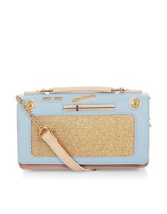 Love this vintage radio across-body bag, but why must all of the cute novelty bags be made out of PU?!?!