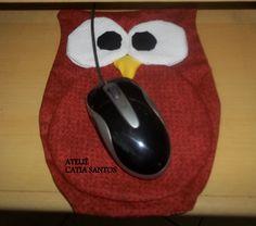 mouse pad coruja