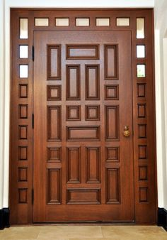 Custom Made Historical Reconstuction Main Entry Door - October 19 2019 at House Main Door Design, Wooden Front Door Design, Main Entrance Door Design, Door Gate Design, Room Door Design, Wood Entry Doors, The Doors, Wooden Doors, Door Ideas
