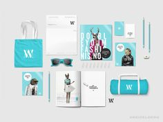Fashion brand identity - Hip by Kreiselberg