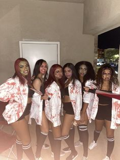 Halloween Costumes For Groups, Couples Halloween Outfits, Trio Costumes, Black Girl Halloween Costume, Cute Couple Halloween Costumes, Hallowen Costume, Couple Costumes, Group Costumes, Halloween Makeup