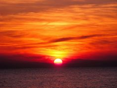 "photos sunsets | ... sunset"" - taken from Macchiatonda beach (excellent for sunsets"
