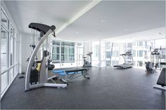 a gym to promote health and well being. Could also be used external.