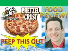 Little Caesars® Soft Pretzel Crust Pizza Review! Peep THIS Out!