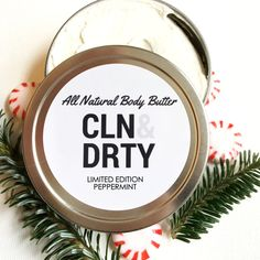 LIMITED EDITION Peppermint Whipped Body Butter | Gift for Coworker, Gifts for Mom, Gift for Mom, Girlfriend Gift, Christmas Gift for Her