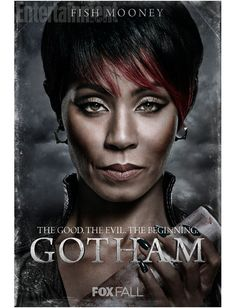 Entertainment Weekly just shared eight new character posters from Gotham. EW predicts that Gotham will have a major presence at Comic-Con next month, so we can expect to learn more about the show v… Bob Kane, Jada Pinkett Smith, Live Action, Gotham Season 1, James Gordon, Gotham Characters, Gotham News, Dc Comics, Fish Mooney