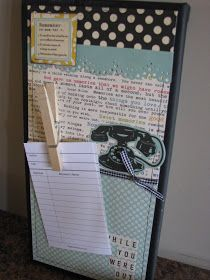 Clean & Scentsible: phone message board