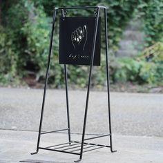 A型立て看板(小)サイン有り|スタンド看板|オリジナル家具・金物の上手工作所オンラインショップ